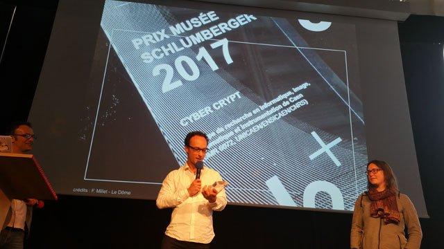 """... instrumentation de Caen (GREYC), en association avec Orange Labs, qui a  été désigné lauréat du Prix Musée Schlumberger 2017 pour le projet  """"CyberCrypt"""". 6dbc6cded700"""